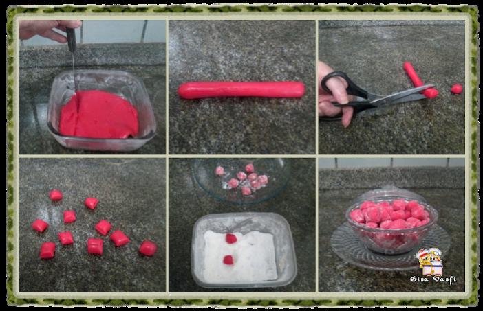 Bala de morangos 8