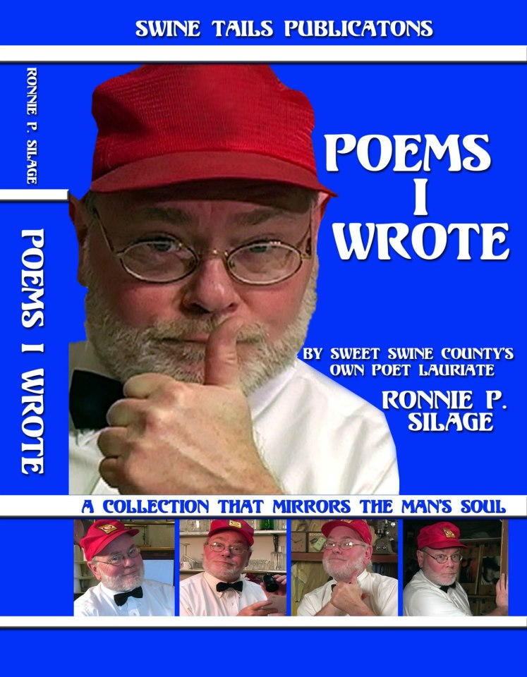 Poet/Farmhand Ronnie P Silage first book featuring both of his poems!