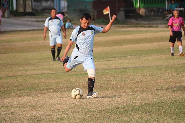 Kodim Karanganyar – Pertandingan Persahabatan FC Gamma Menang Telak Atas Disparpora