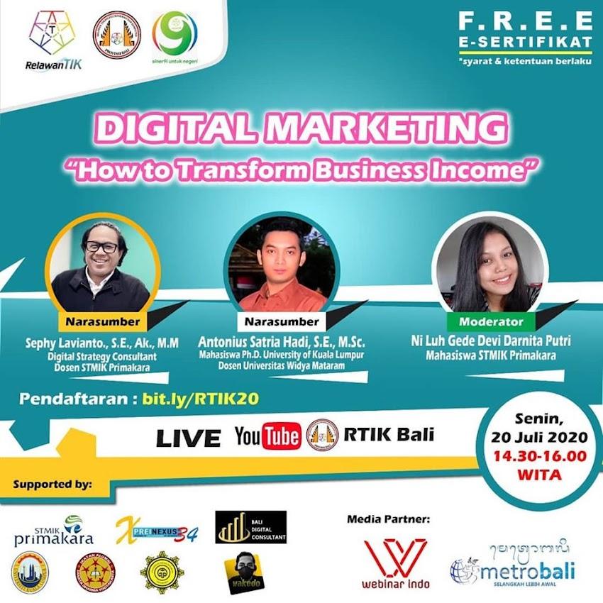 Majukan Bisnis dengan Pemasaran Digital