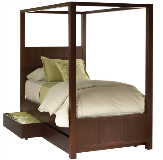 canopy beds for twin - photo #14
