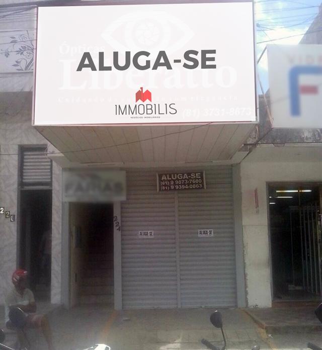 a43d21085fc Estabelecimento comercial no Centro de Santa Cruz do Capibaribe - Immobilis  - Negócios Imobiliários