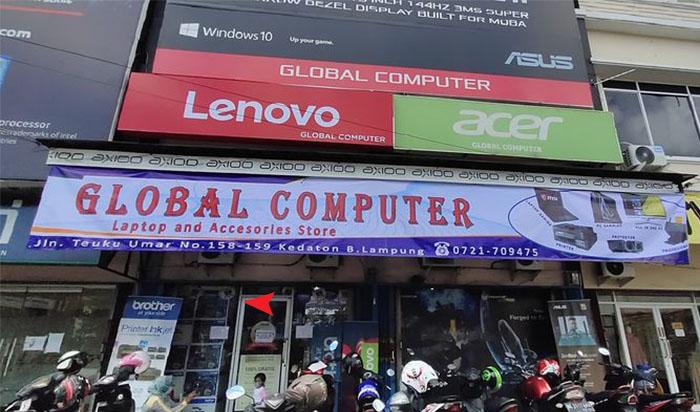 Global Komputer Bandar Lampung Tempat Beli Laptop Berbagai Merk