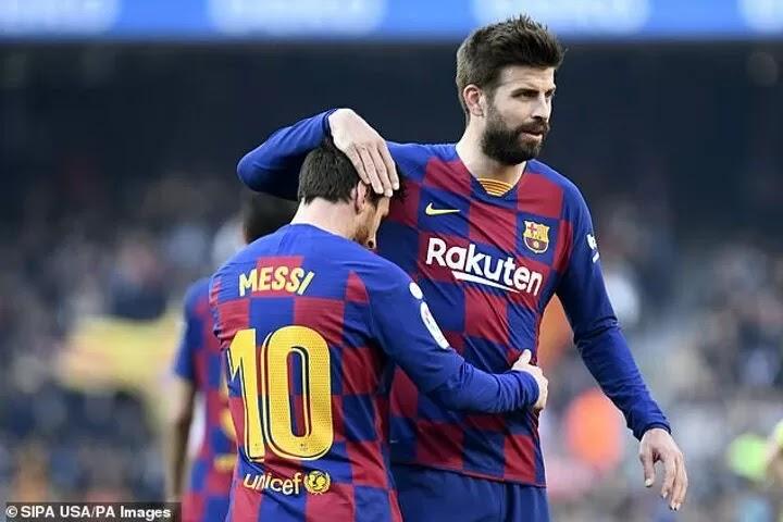 Pique admits Barcelona dressing room has been 'broken' by Messi leaving '