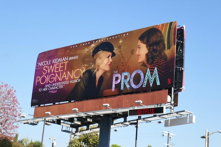 Nicole Kidman Prom FYC billboard