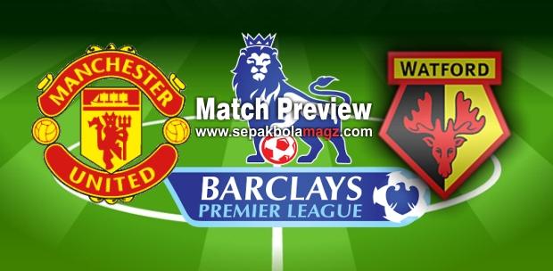 Prediksi Manchester United vs Watford - Liga Inggris Sabtu 11 Februari 2017