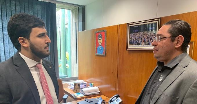 Prefeito de Rosário Oeste agradece os 800 mil em emendas do Deputado Emanuelzinho