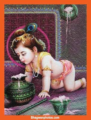 Cute Laddu Gopal Ji