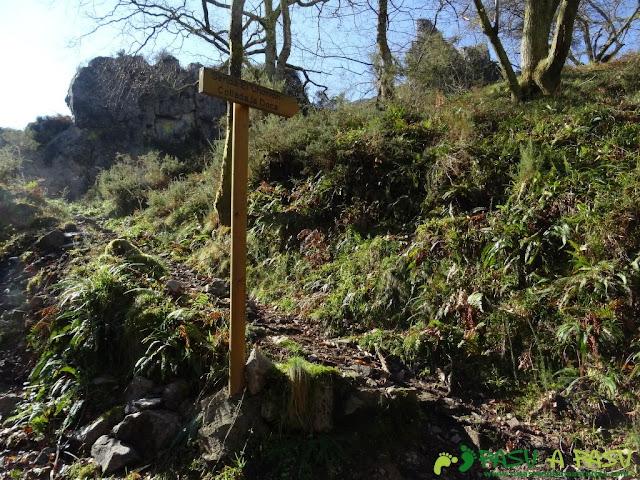 Senda del Chorrón y Foz del Río Valle: Inicio de la Senda del Chorrón