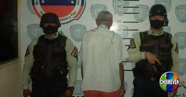 Chavista pervertido capturado en Miranda tras abusar de menor de 7 años