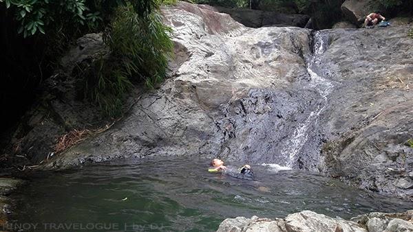 Small catch basin of Kawa Falls