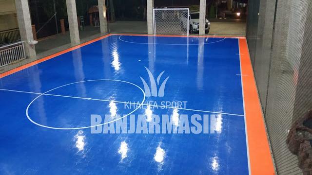 Interlock Lapangan Futsal di banjarmasin