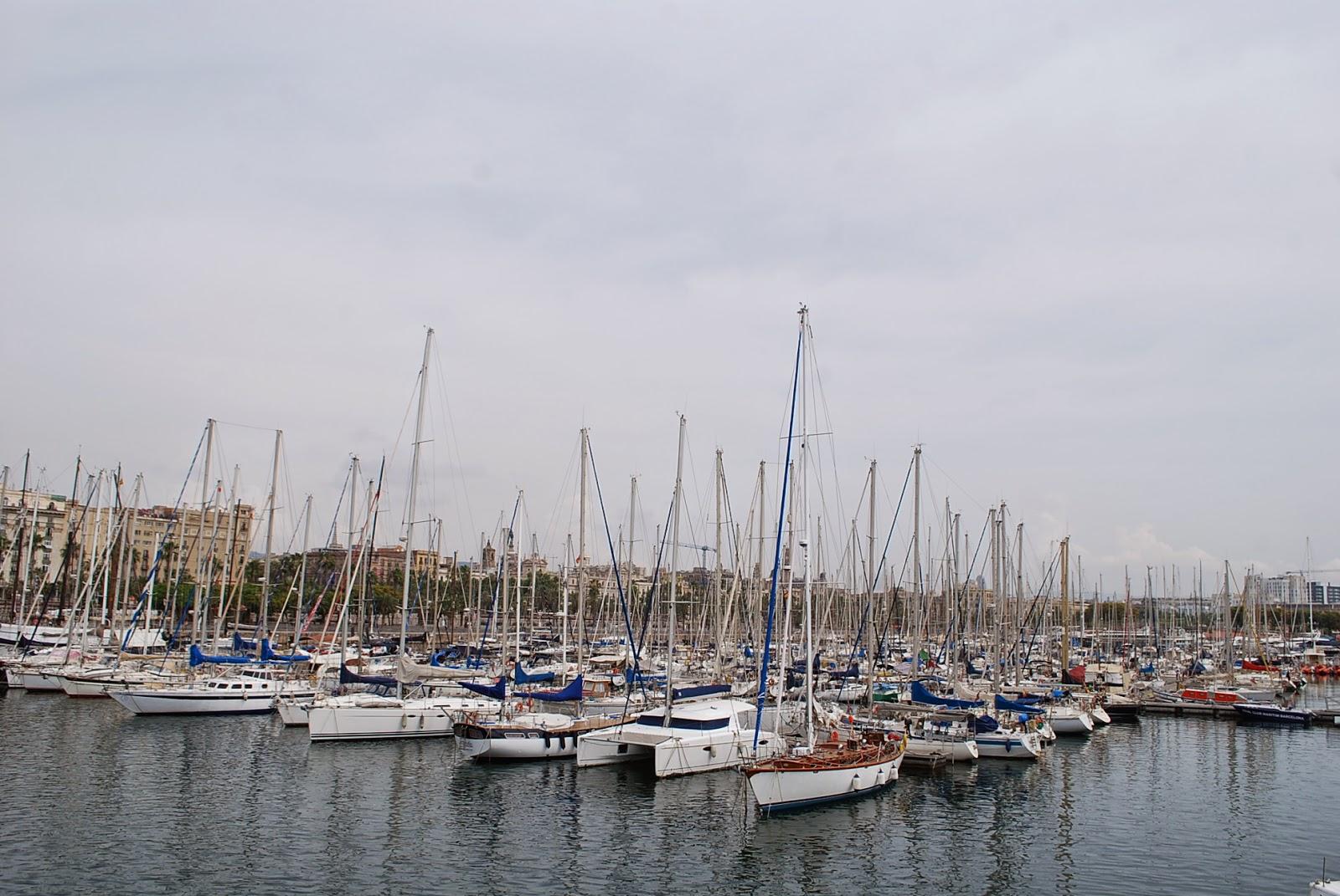 Порт Барселоны. Port de Barcelona.