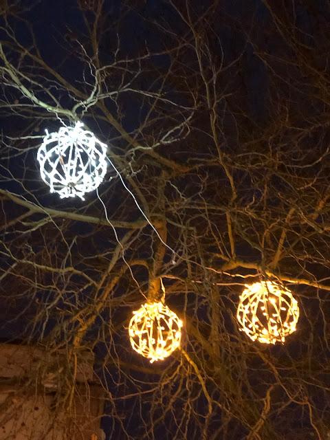 Christmas lights, Chez Maximka