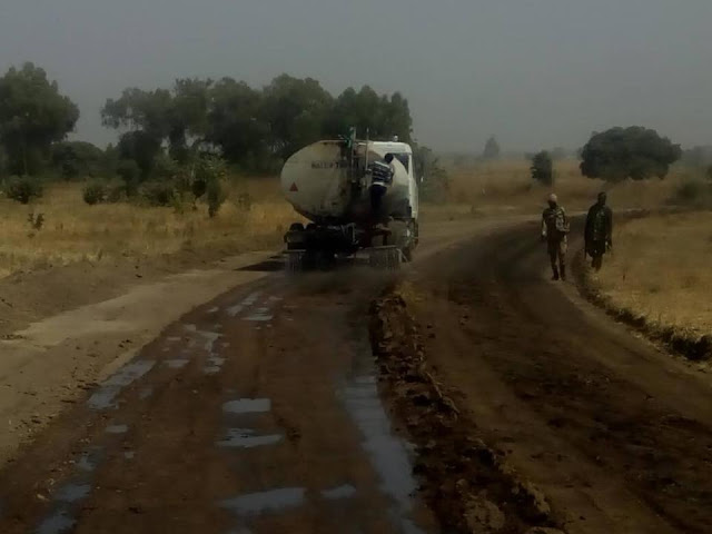 Nigerian Army Constructs Road Into Heartland Of Sambisa Forest. Photos