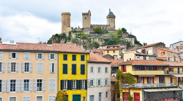 Foix en ruta de los Cátaros, Francia