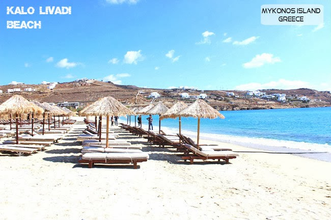 Kalo Livadi beach photos Mykonos island.Kalo Livadi plaza slike Mikonos ostrvo.