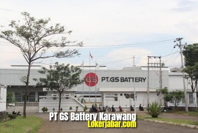 Lowongan Kerja PT GS Battery Karawang