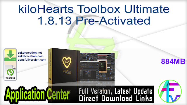 kiloHearts Toolbox Ultimate 1.8.13 Pre-Activated