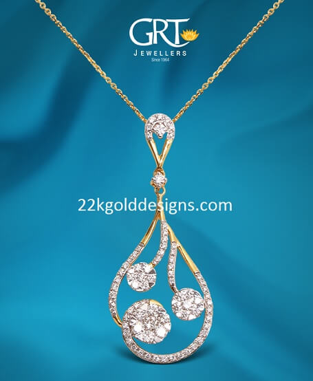 GRT Light Weight Diamond Pendant