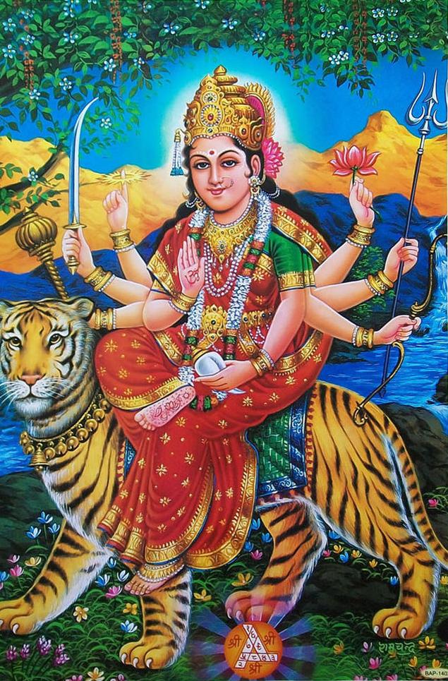 Sherawali Mata ki photo image hd wallpaper download