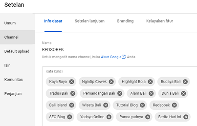 Gunakan Tips SEO Youtuber