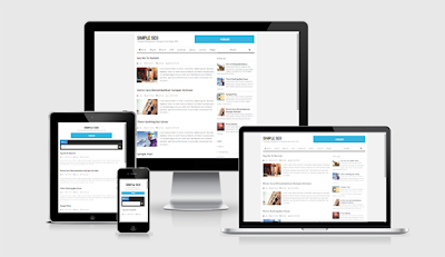 Simple SEO Responsive Blogger Template