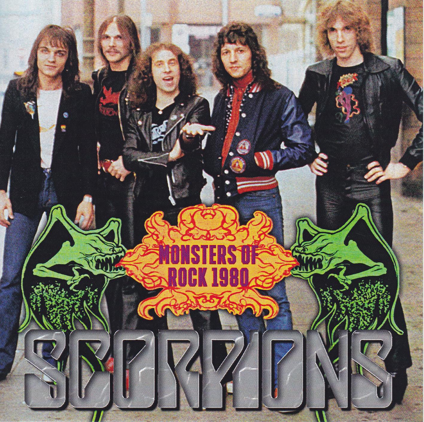 Scorpions (Ger) / Judas Priest (UK) / Saxon (UK) - Live at Monsters