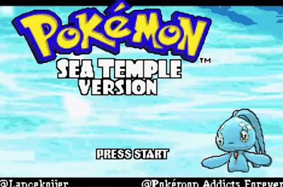 Pokemon Sea Temple para GBA Imagen Portada