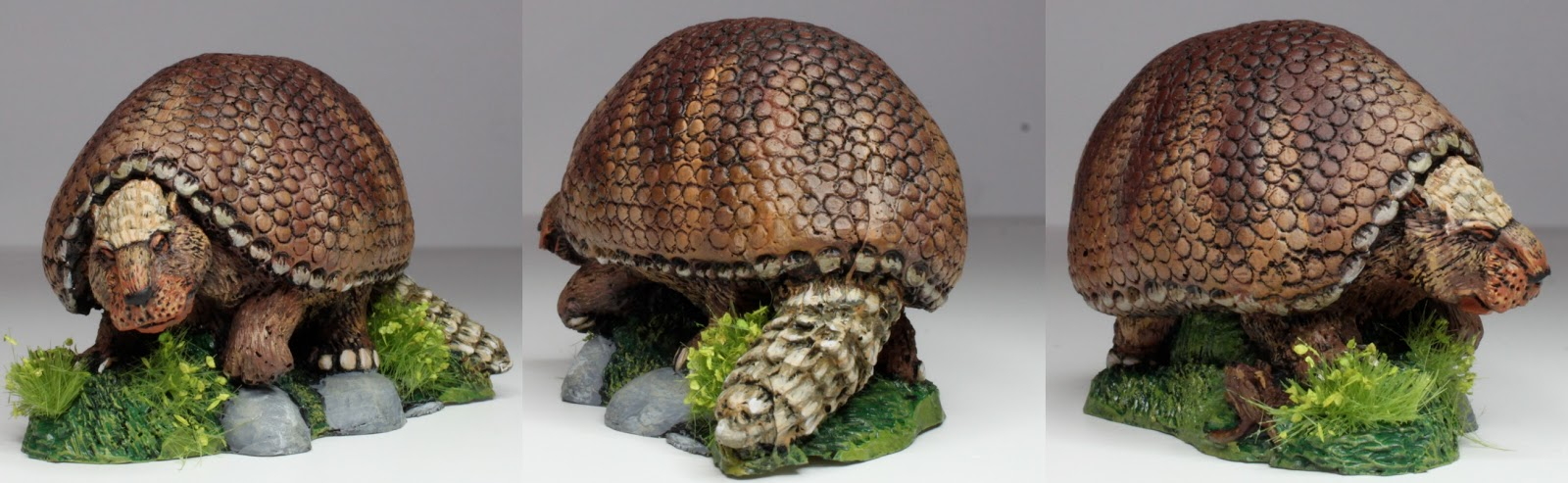 28mm Victorian Warfare: A 28mm Glyptodon!