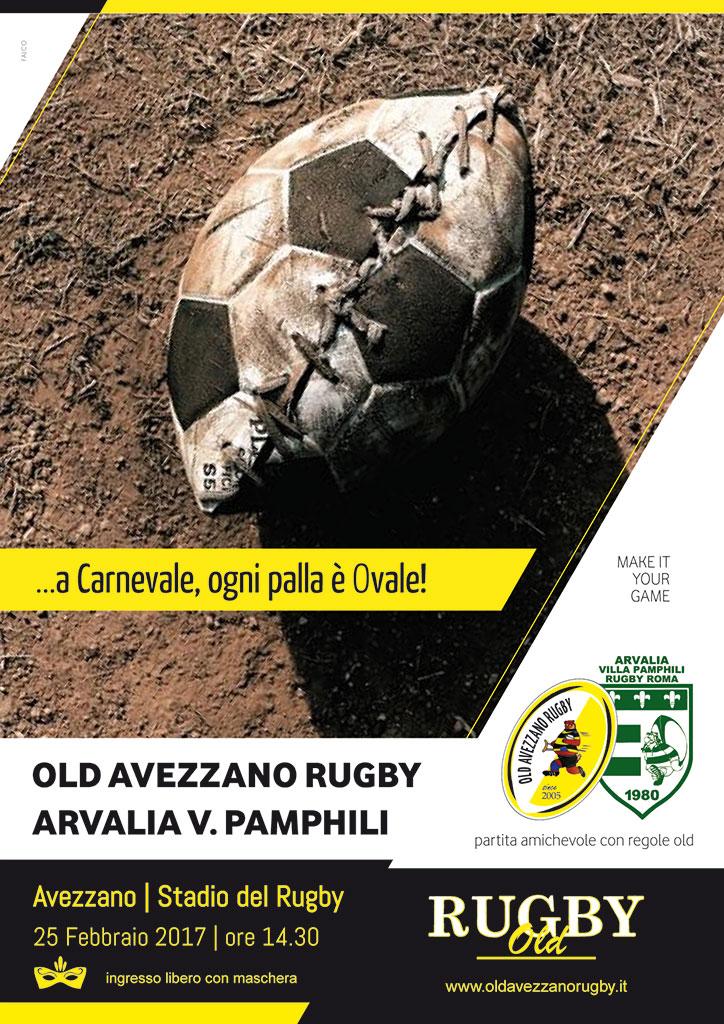 Rugby, Evento, Ovale - Amichevole di Carnevale