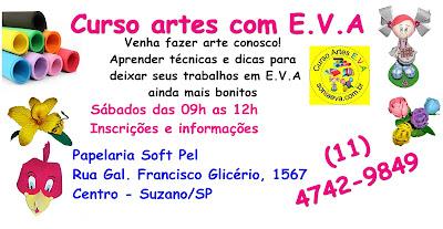 Curso artes com E.V.A