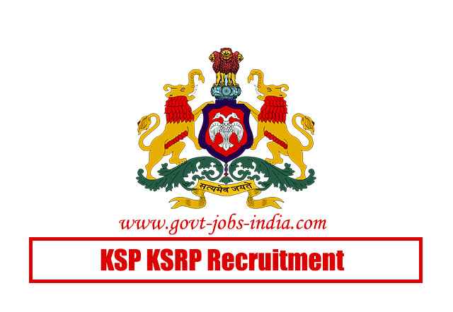 KSP KSRP Recruitment 2020 – 2672 Special Reserve Police Constable & Bandsmen Sarkari Naukri Vacancy – Last Date 06 July 2020