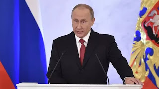 El presidente ruso, aliado del dictador Bashar al Assad, aseguró que tiene informaciones de intentos de colocar sustancias en el país para inculpar al régimen sirio