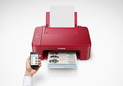 koneksi Canon PIXMA E3370 dengan smartphone