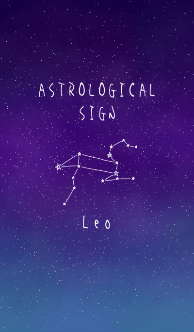 ASTROLOGICAL SIGN.(Leo)