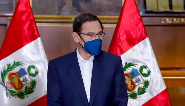 Congreso debate hoy vacancia presidencial contra Martin Vizcarra