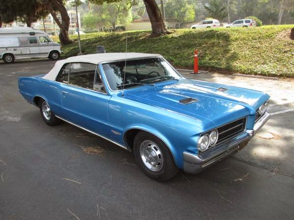Cost To Repaint A Car >> 1964 Pontiac GTO Convertible for Sale - Buy American Muscle Car