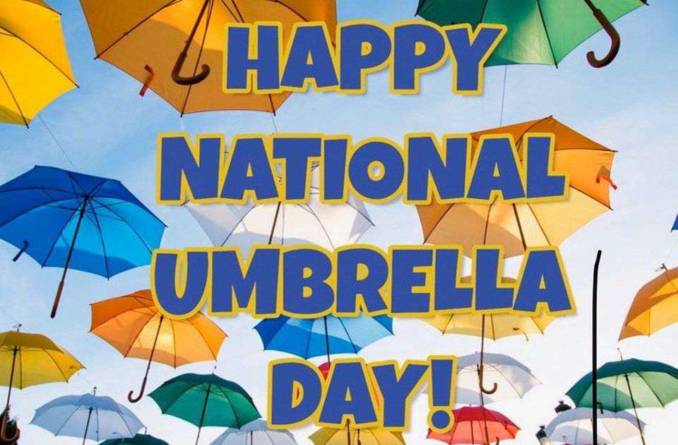 National Umbrella Day Wishes Images