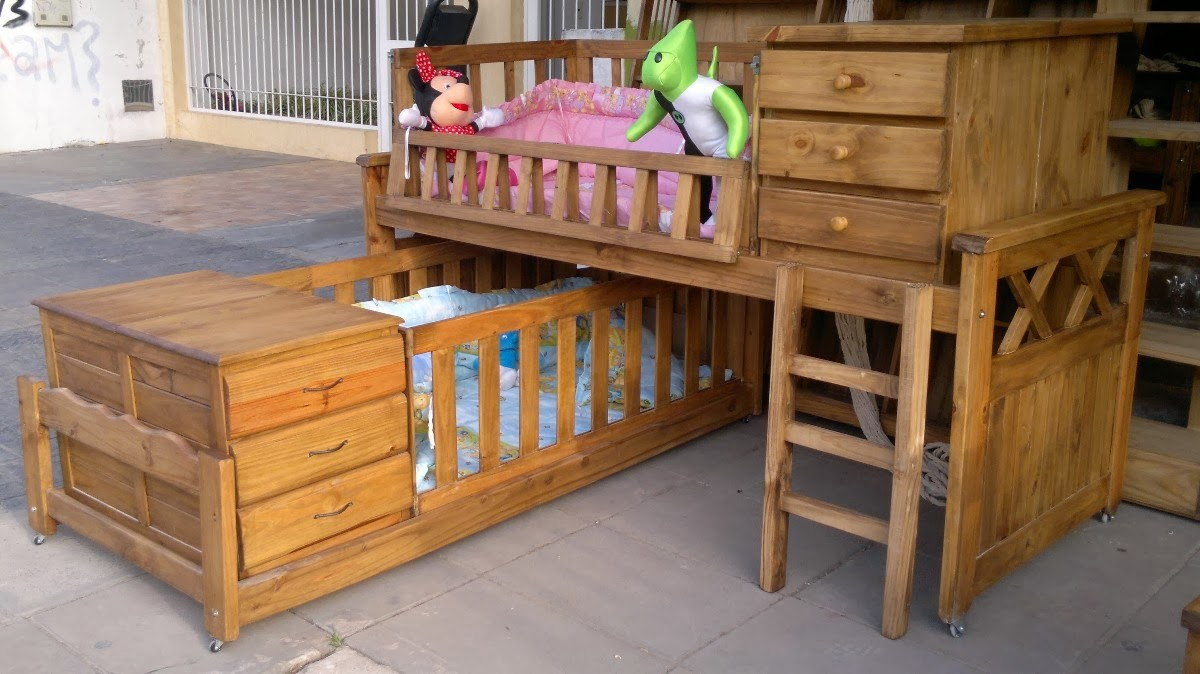 Dormitorio de bebes dormitorio para bebes gemelos cunas - Cunas para bebes gemelos ...