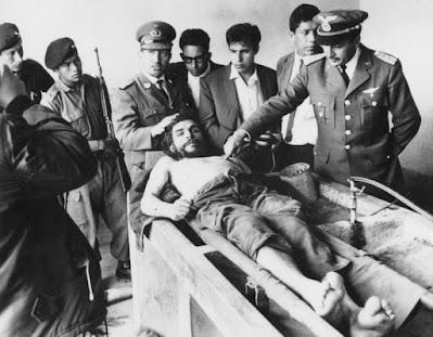Che Guevara చే గువేరా మృతదేహం