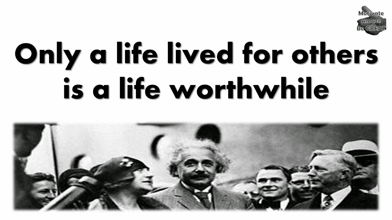 One of the featured quotes in our Albert Einstein Picture Quotes About Life article.