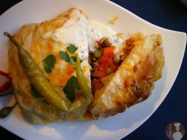 Sultan kebabı (Kebab del sultán)