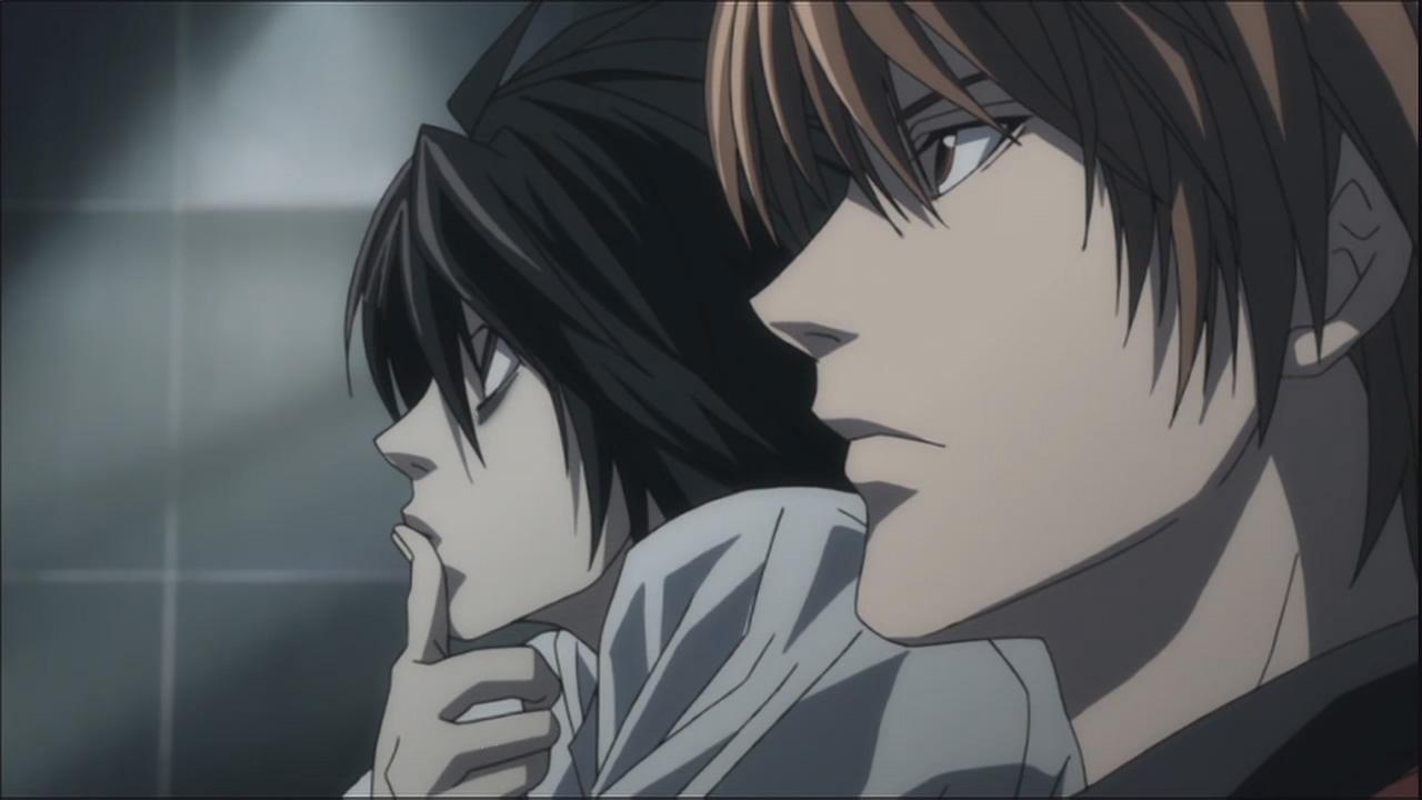 La relación entre Light y L. los dos protagonistas, es uno de los puntos fuertes de la serie