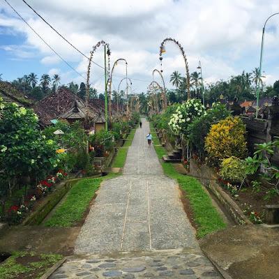 foto desa wisata panglipuran