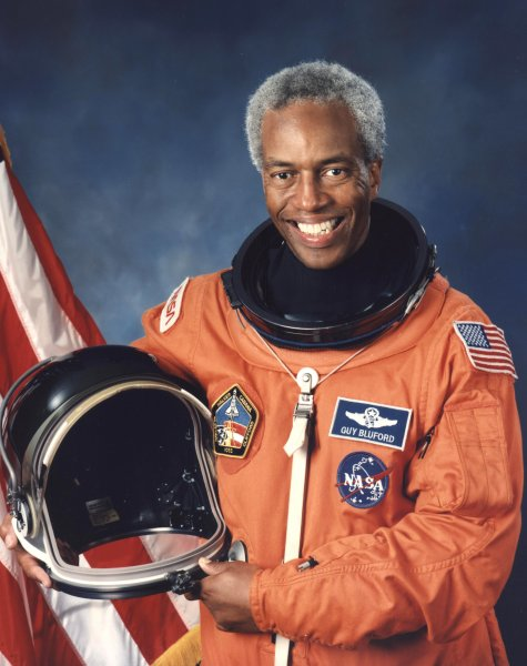 Autograph Vip Succes 2011 Astronaut Guion Bluford The