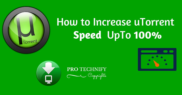 Increase uTorrent speed