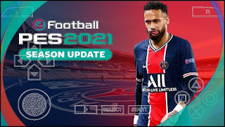 Download PES 2021 PPSSPP Android English Version V4 Update New Textures & Latest Transfers