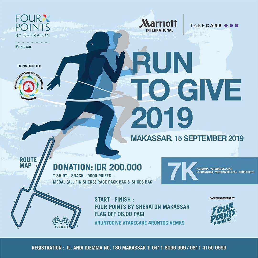 Run to Give - Makassar • 2019