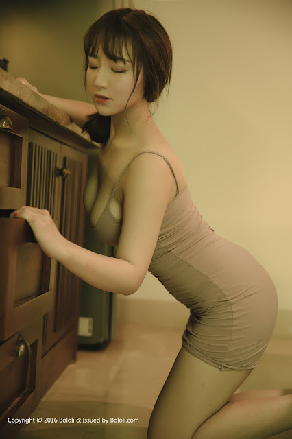 Hot girls Beauty Asian Girls sexy body model Mang Guo 6